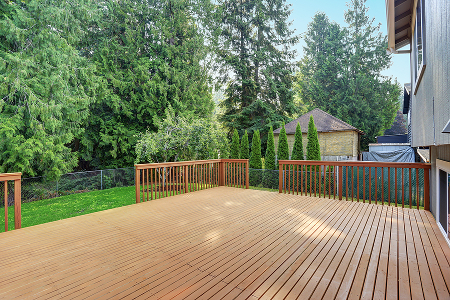 remodeling of the deck
